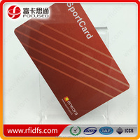 Free samples are available!Shenzhen Focused ISO14443A/ 15693 ICODE SLIX RFID smart CARD