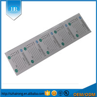 Custom Rectangle Writing Wrapping Paper Sticker Label For Packing Carton