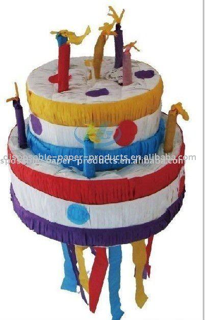 Terrific Birthday Cake Pinata Funny Birthday Cards Online Elaedamsfinfo