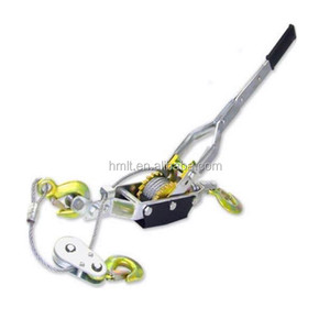 5 Ton Comealong Ratchet Hand Cable Winch Puller Come A Long