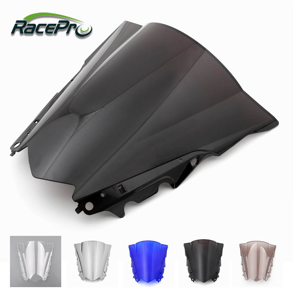 Motorcycle Wind Guard Windshields Windscreen for Yamaha YZF R3 R25