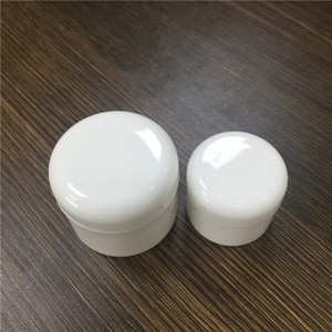 6g PP plastic material reusable cosmetic containers white plastic pp jar for hand cream body cream