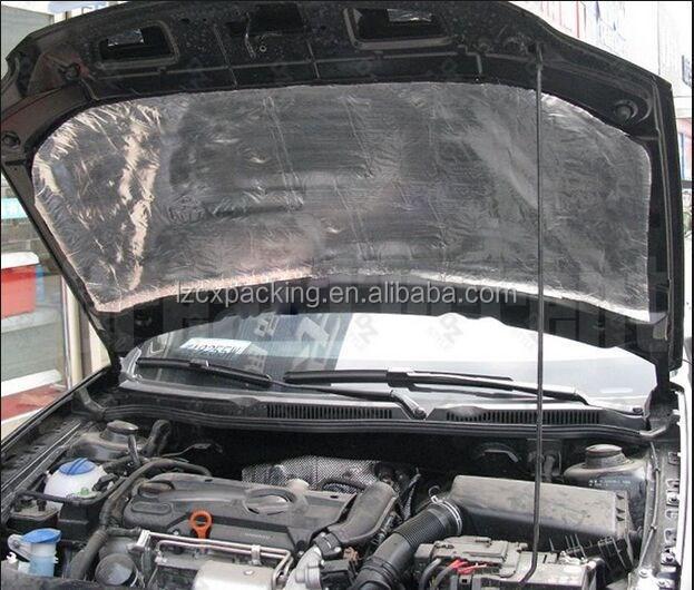 10' X 4' Interior Heat & Sound Insulation Deadening Noise Thermal  Automotive Car - Buy 100x 30cm Car Heat Shield Turbo Sound Exhaust  Insulation