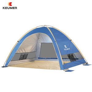 Automatic Sun shelter,Anti-Wind Outdoor Beach Sunshade Tent tent for 3-4 people(quickly open) KEUMER