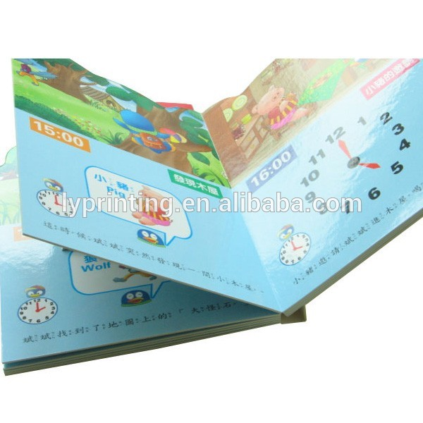 Print english learning book for kids, Cheap coloring board book children book manufactured