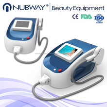 CE approval! Lastest effective micro channel 808nm diode laser hair portable