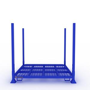 Warehouse Stacking Post Pallet Used Tire Rack Rims Custom Size Storage Rack Shelf