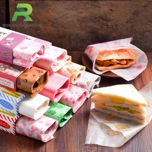 Food Wrap Pre-cut Printed Parchment Wax Paper
