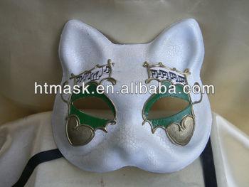 Seksi Parti Maskesi Yarım Yüz Kedi Maskesi Boyama Maskesi Buy