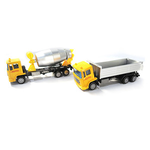 Top sell die cast metal model carry container truck toy