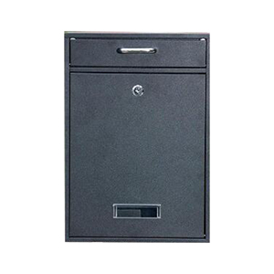 Free Sample Supply Large Post Waterproof Wall Mounted Apartment Wrought Iron Outdoor Newspaper Mailbox