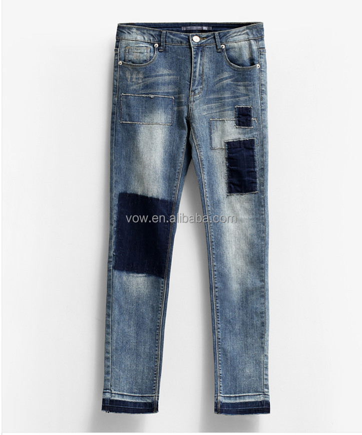 Oem Latest Design Loose Harlan Ripped Jeans Pants/ Cool Jeans Pent ...