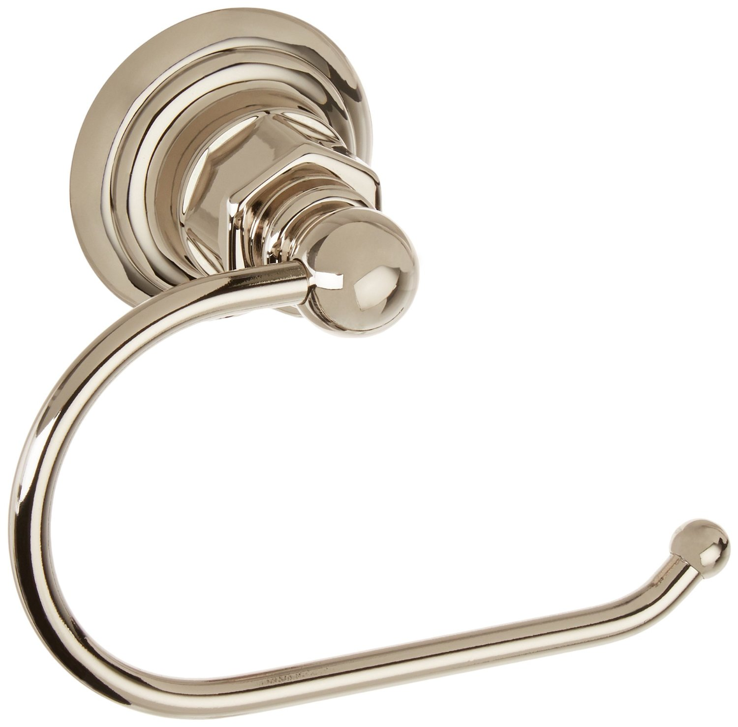 Polished Nickel Shiny Silver Matching Screws Included RCH Hardware Solid Brass Double Arm Hook