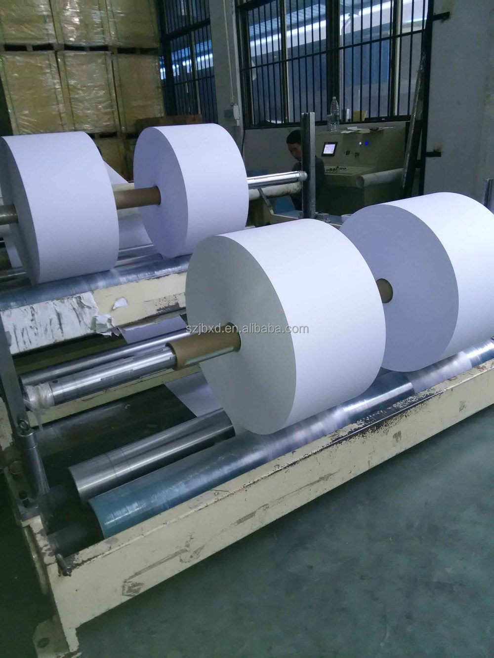 mm thermal paper roll products jumbo roll paper printing 405mm thermal paper roll products jumbo roll paper printing services