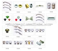 Different types Zinc alloy/Plastic metal handle from Handle knob factory
