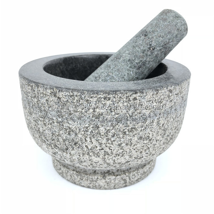 Mini Marble Mortar and Pestle Set for Herb Spices