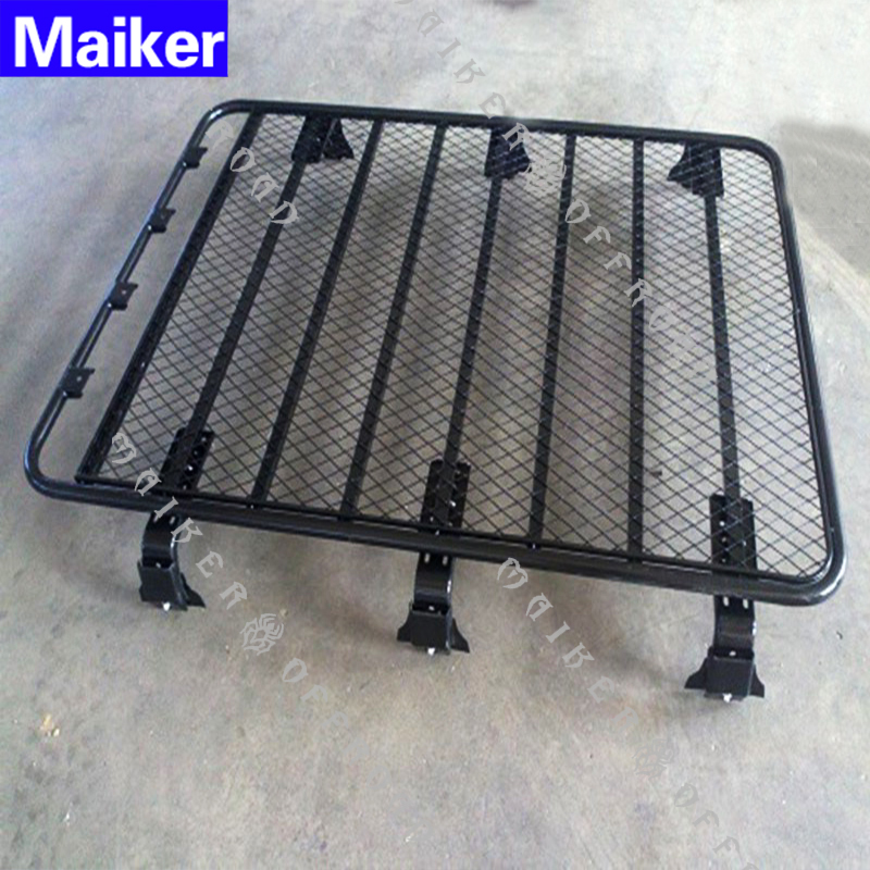 Best Selling 4x4 car Iron top luggage basket Universal roof rack for nissan patrol