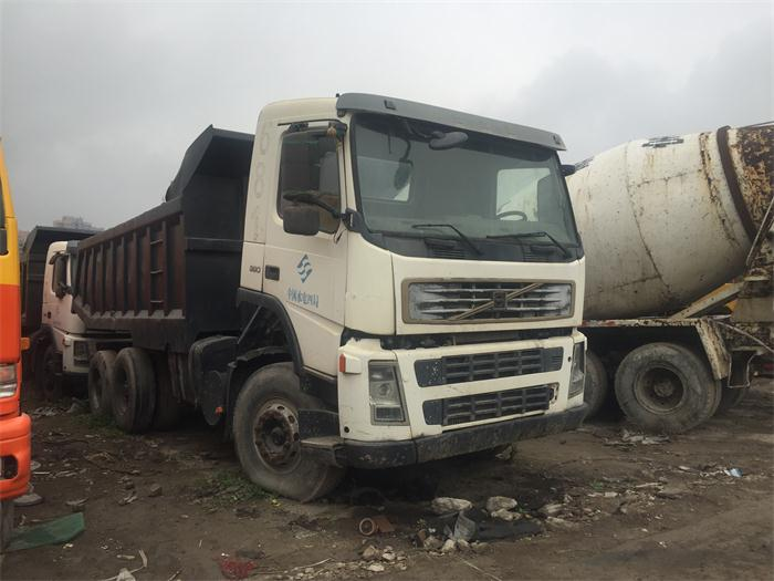 Location is Shanghai, Used Volvo dump truck, Second Hand Dump Truck for Sale