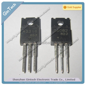 NPN Epitaxial Planar Silicon Transistor 50V / 15A High-Speed Switching Applications A2210 C6082 PAIR 2SA2210 2SC6082 TO-220ML