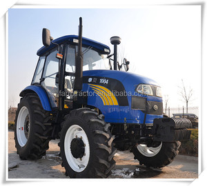Huaxia tractors 1004 100HP 4wheel drive 4 cylinders YTO engine for sale