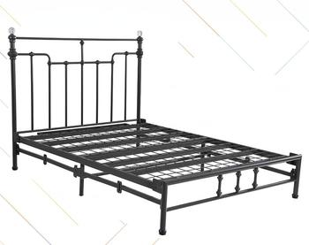 Safe Modern Cheap Prices Single Bed Metal Bed Frame Design For