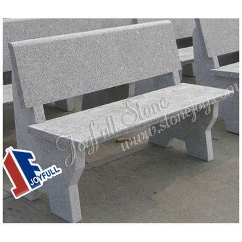 Granite Garden Bench, Stone Garden Bench, Stone Park Benches