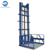 wall mounted hydraulic cargo platform lift for warehouse