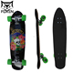 Professional Custom 31 Inch 9 Layer Skate Board Decks Maple Wooden deck Skateboard Cruiser For Outdoor
