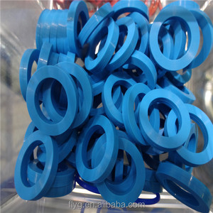 Sheet PTFE /FEP Teflon Coated O Ring /Blue PTFE Gasket