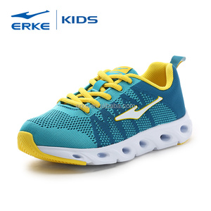 ERKE wholesale brand lightweight breathable easy wear boys sports school shoes