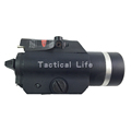 2016 Hot Sale M7 Red Laser Flashlight Wavelangth 650nm Hunting Optics Laser Sight LED Tactical Flashlight