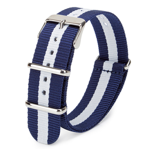 Custom Cotton Canvas Fabric Printed Nylon Nato Watch Strap