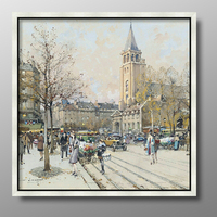 Modern Art Canvas Printing Home Decoration Classic European Landscape Oil Painting