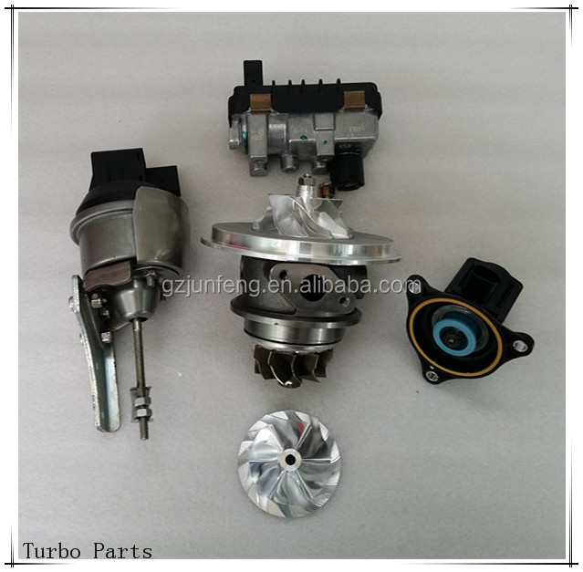 Manufacting almost turbo parts: actuator, waste gate, CHRA, compressor wheel