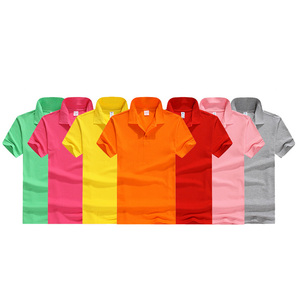 Small qty cotton custom printing logo men polo t shirt
