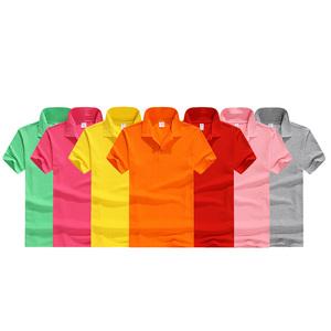 Small qty cotton custom printing logo men polo t shirt