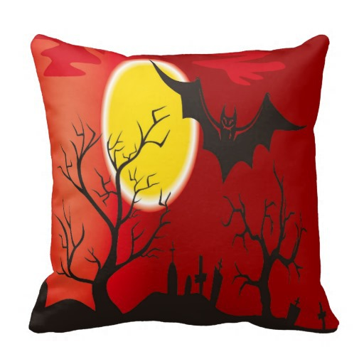 2015 new Halloween pillow cover,45x45cm /17.8'',100% linen cotton cushion cover no core,Pumpkin lantern kids pillow case 2pc/Lot