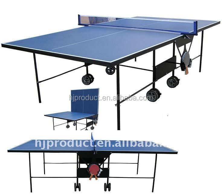 Sturdy Design Table Tennis Table/pingpong Table With Wheels   Buy Table  Tennis Table,Removable Table Tennis Table,Pingpong Table With Wheels  Product On ...
