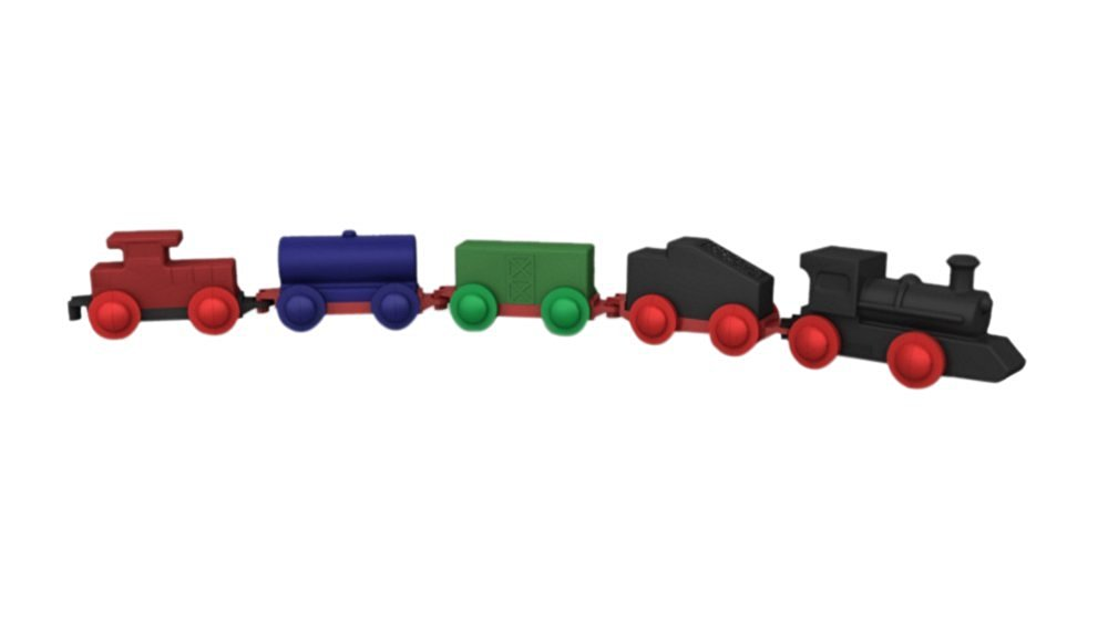 Childbrite Red Ball Express Play Train for Route Board
