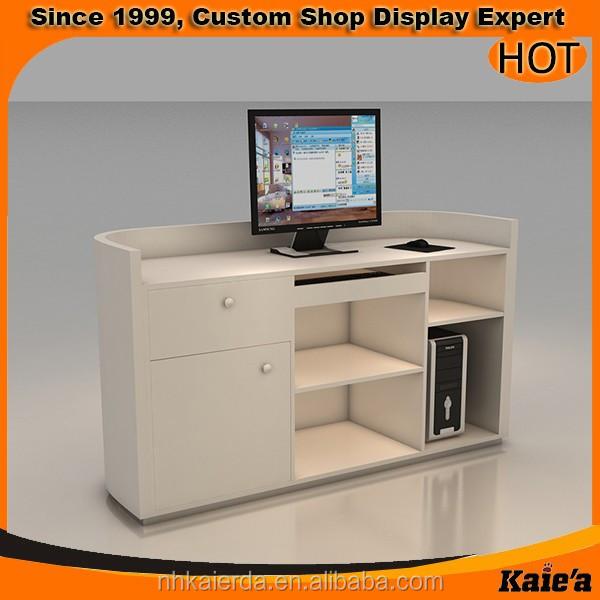 Wood Shop Cash Counter Design/clothes Shop Counter Table Design ...