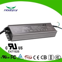 single output style 180w 200w waterproof electronic led driver