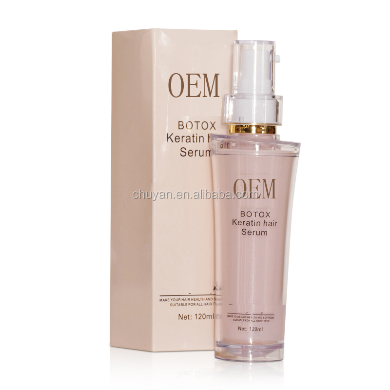 OEM/ODM 1000ML Nourishing Hair Treatment Serum Repairing hair keratin with collagen