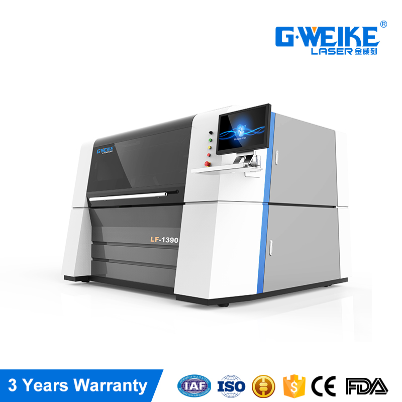 GWEIKE carbon eagle cnc fiber laser fabric cutting machine LF1390