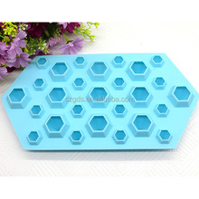 3D silicone del commestibile Diamanti Freddo Ice Cube