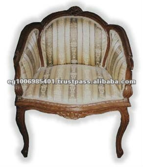 English style antique armchair