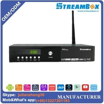 Digital Tv Receiver Set Top Box Software Update Dvb Streambox A8 ...