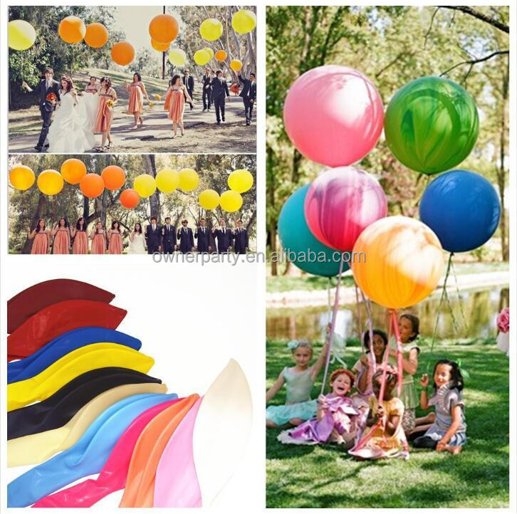 "Baby Shower Decoration 36"" Latex Balloon and Paper Tassels Balloon Tassel Kits"