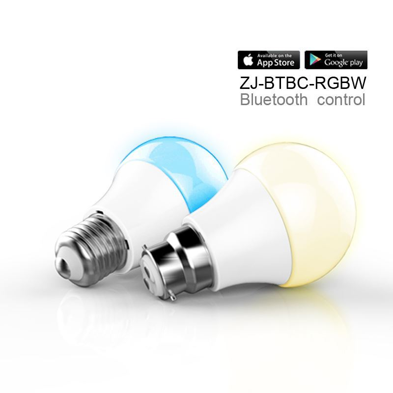 new hot products,IOS Android RGBW high power bluetooth led smd bulb buy from china factory below 1 dollar price