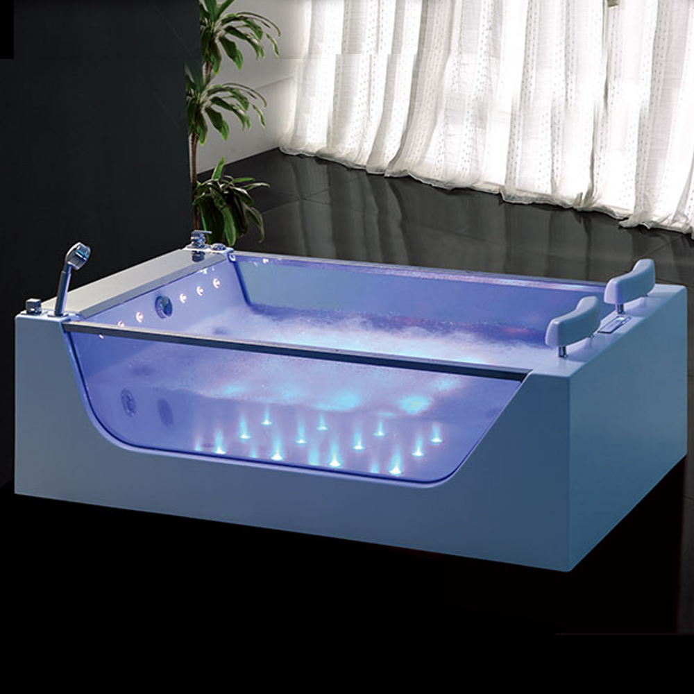 Hs-b227 Square Chinese Soaking Two Person Freestanding Bathtub Sizes ...