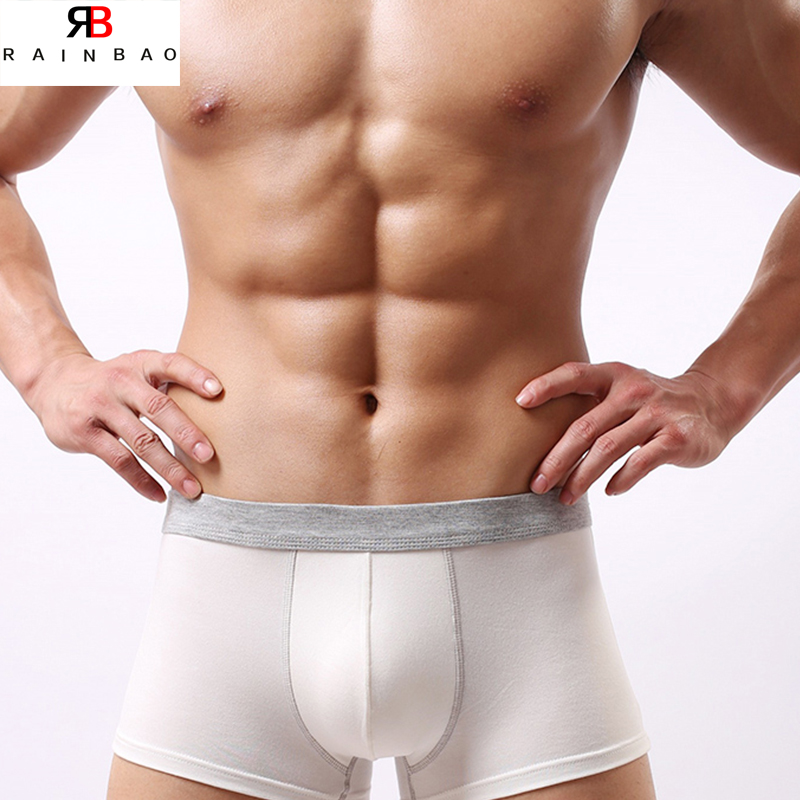 OEM brand custom Ice Silk boxers for men